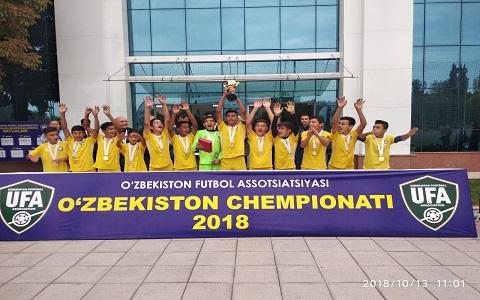 5та ёш тоифасидаги футболчилар ўртасидаги Ўзбекистон чемпионатининг финал учрашуви бўлиб ўтди