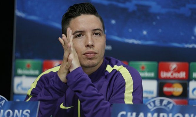 Nasri find that girl no shout
