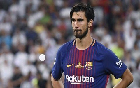 """""""Barselona"""" yozgi mavsumoldi sayohatiga Andre Gomeshni olib ketmaydi"""