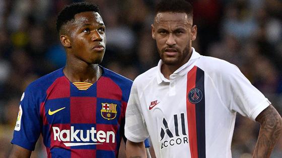Barselona»ga Neymar kerak emas, chunki endi Fati bor