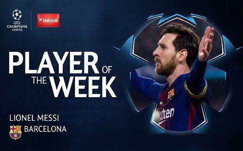 ECHL. Messi – haftaning eng yaxshi futbolchisi