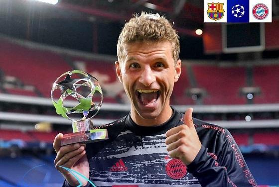 «Barselona» — «Bavariya» uchrashuvining eng yaxshi futbolchisi e'lon qilindi