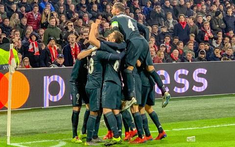 ЕЧЛ. «Аякс» – «Реал». Ўйин статистикаси