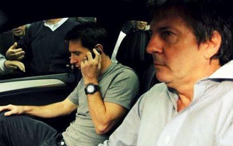 Xorxe Messi o'g'lining yangi shartnomasi bo'yicha Barselonaga etib keldi