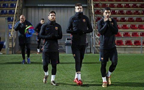 «Barselona»ning «Espanol»ga qarshi kengaytirilgan tarkibi