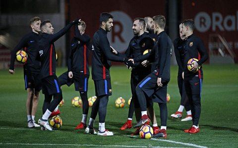 "La Liga. ""Barselona"" – ""Alaves"" (tarkiblar)"