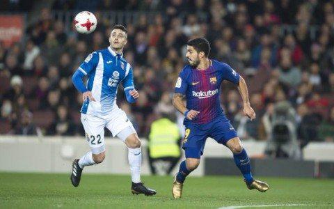 Ispaniya kubogi. «Barselona» - «Espanol» 2:0 (videosharh)