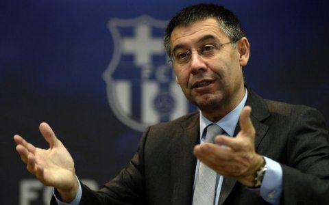 «Barselona» prezidenti o'z lavozimini tark etishini e'lon qildi