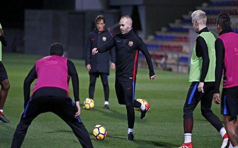 «Barselona»ning «Valensiya»ga qarshi kengaytirilgan tarkibi