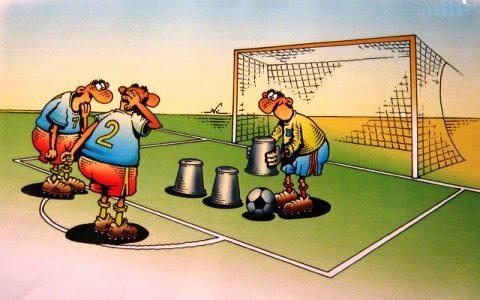 Javlon Nazarov karikaturasi: «Real» uchun «Ramos time»dagi alamli mag'lubiyat
