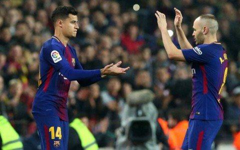 Koutino: «Messi va Suares bilan birga o'ynaganimdan juda baxtiyorman»