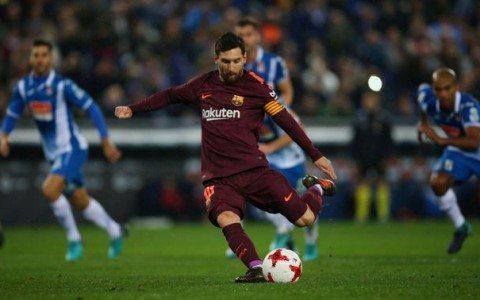 Messi aqlbovar qilmas aniqlik namoyish qildi (video)