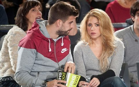 Pike xotini Shakira bilan ajrashdi