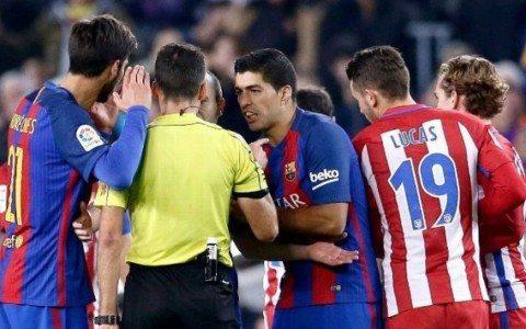 «Barselona» Luis Suaresning qizil kartochkasi yuzasidan CAS'ga murojaat qilishga tayyor
