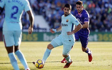 La-Liga. «Barselona» safarda yirik g'alabaga erishdi, Suaresdan dubl
