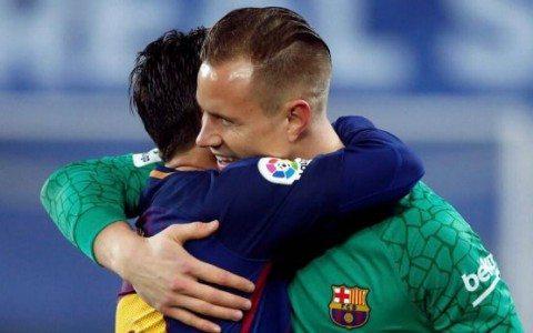Ter Shtegen: «Messi — juda ayyor»