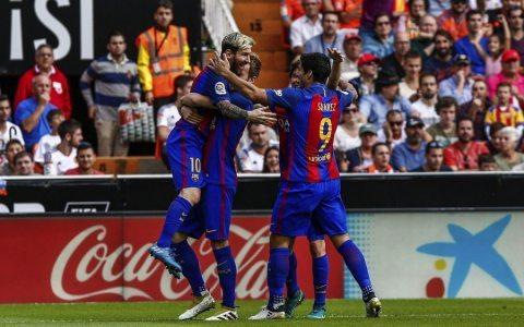«Barselona» o'ta qiyin g'alabani qo'lga kiritdi