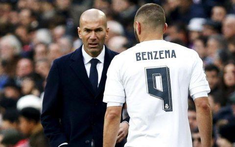 Zidan: «Benzema va Krishtianu Ronalduning kam gol urayotganidan xavotirda emasman»